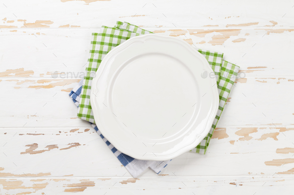 Empty plate - Stock Photo - Images