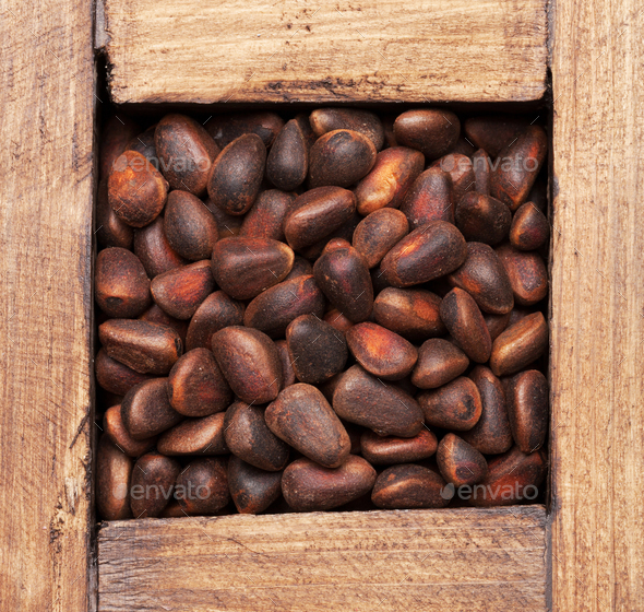 Pine nuts - Stock Photo - Images