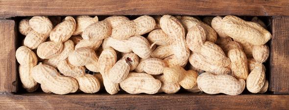 Peanut nuts - Stock Photo - Images