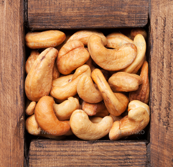 Cashew nuts - Stock Photo - Images