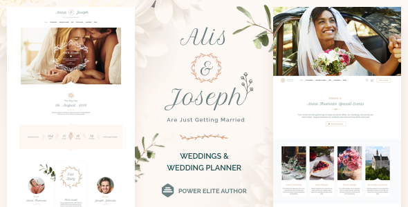 Alis - Wedding Wedding Planner WordPress