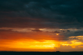 Sunrise Sky Background. Natural Bright Dramatic Sky In Sunset Da - PhotoDune Item for Sale