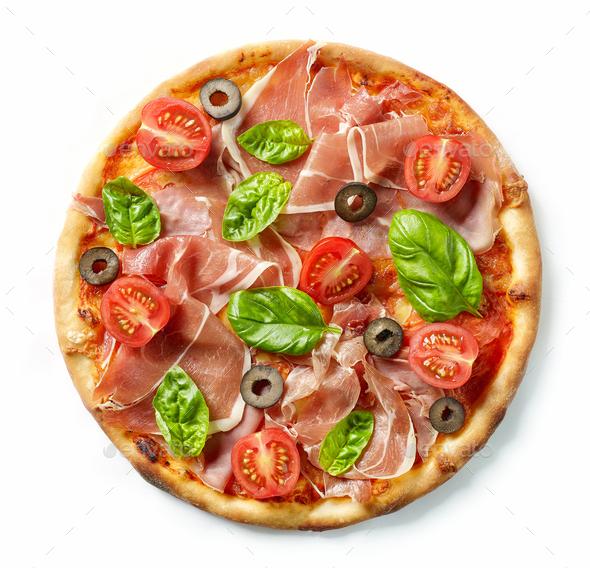 Freshly baked pizza - Stock Photo - Images