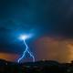 Sunset Lightning Thunderstorm - PhotoDune Item for Sale