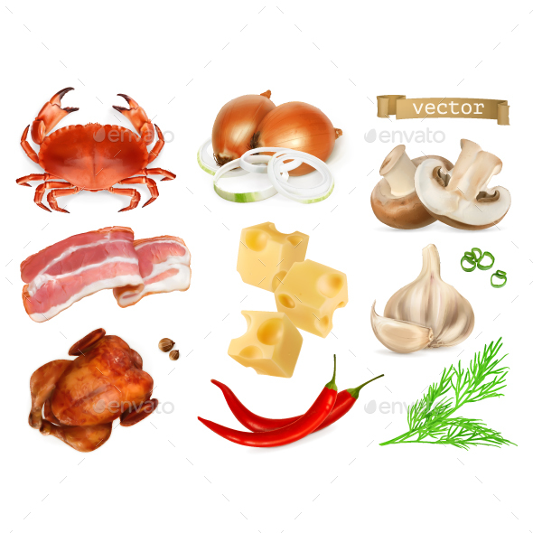 Foods - Food Objects