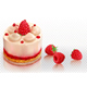 Creamy Cake with Raspberries - GraphicRiver Item for Sale