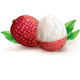 Two Lychee Fruits - GraphicRiver Item for Sale