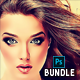 Cartoon Painting Photoshop Action Bundle