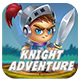Knight Adventure RUN  (Admob + Xcode Project ) - CodeCanyon Item for Sale