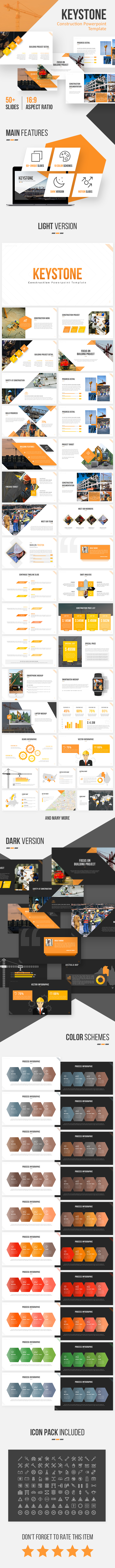 Keystone - Construction Powerpoint Template - Business PowerPoint Templates