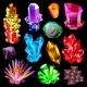Crystal Vector Crystalline Stone Gem and Precious