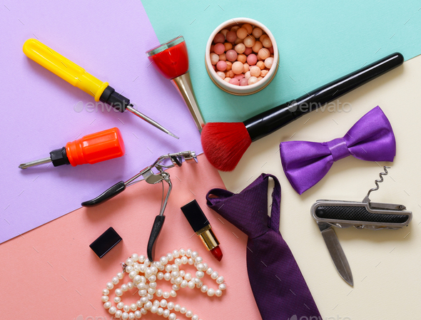 Set Accessories - Stock Photo - Images