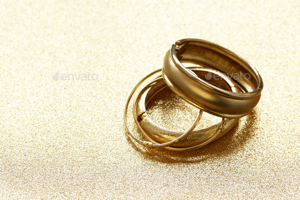 Gold Jewelry  - Stock Photo - Images