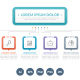 Infographic Template with Six Steps - GraphicRiver Item for Sale
