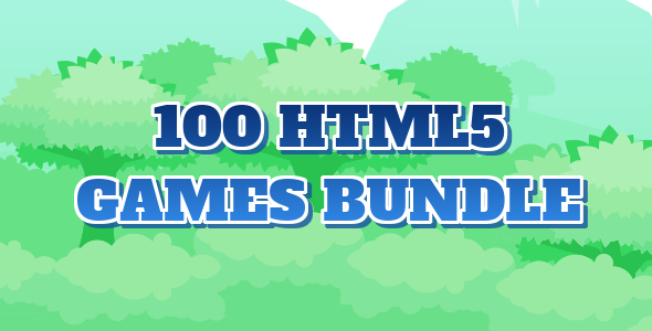 100 HTML5 Games Bundle - CodeCanyon Item for Sale