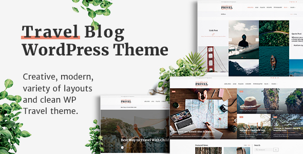 Provel - Modern Blog & Magazine Theme