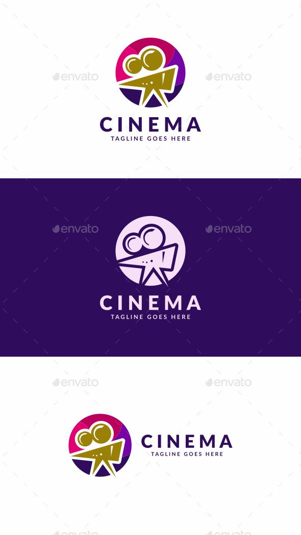 Cinema Camera - Objects Logo Templates