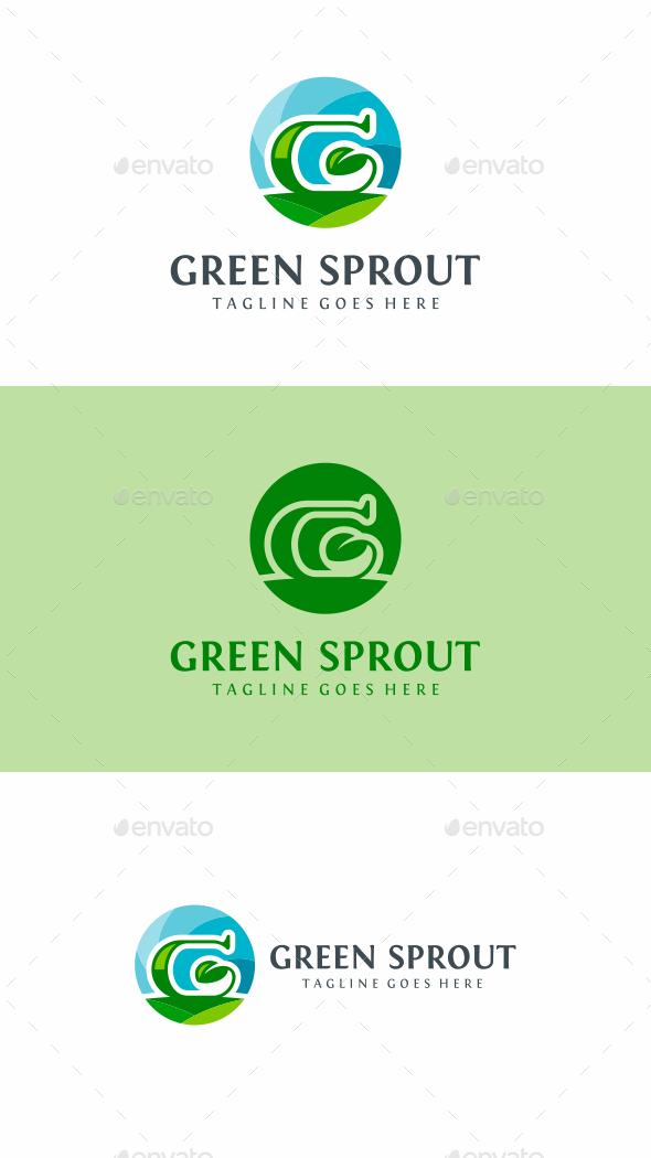 Green Leaf - Nature Logo Templates