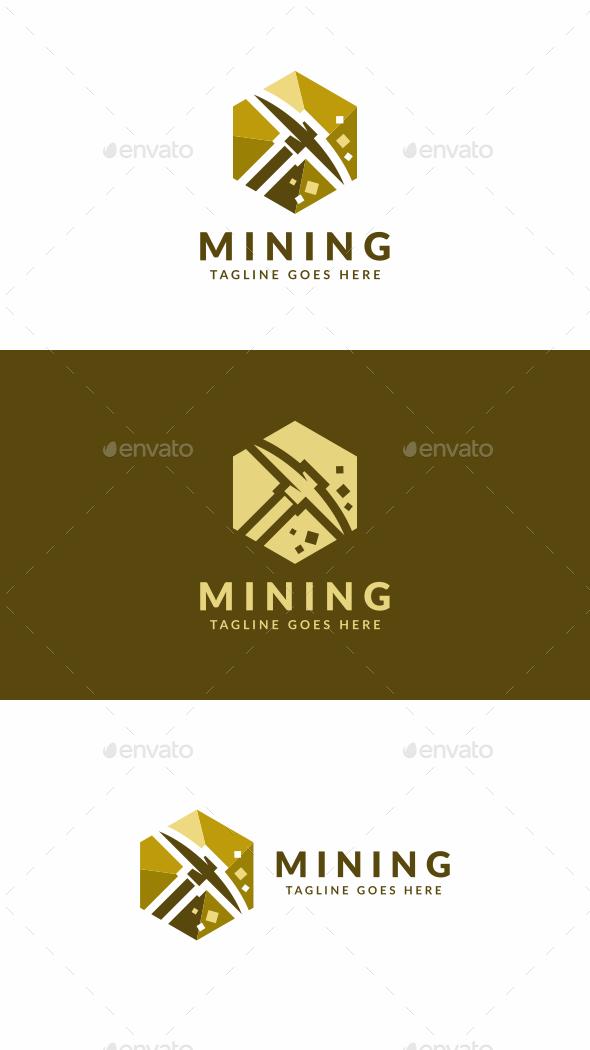 Mininng - Objects Logo Templates