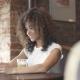 Cute Hispanic Girl Doing Selfie in Cafe - VideoHive Item for Sale