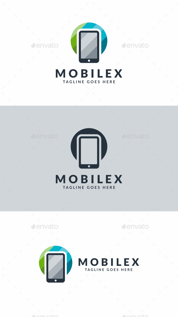 Mobile Logo - Objects Logo Templates