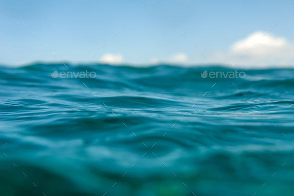 Water bokeh background - Stock Photo - Images