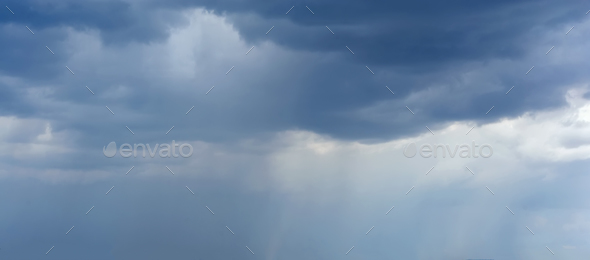 Sky with clouds - Stock Photo - Images