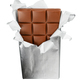 Chocolate bar isolated - PhotoDune Item for Sale