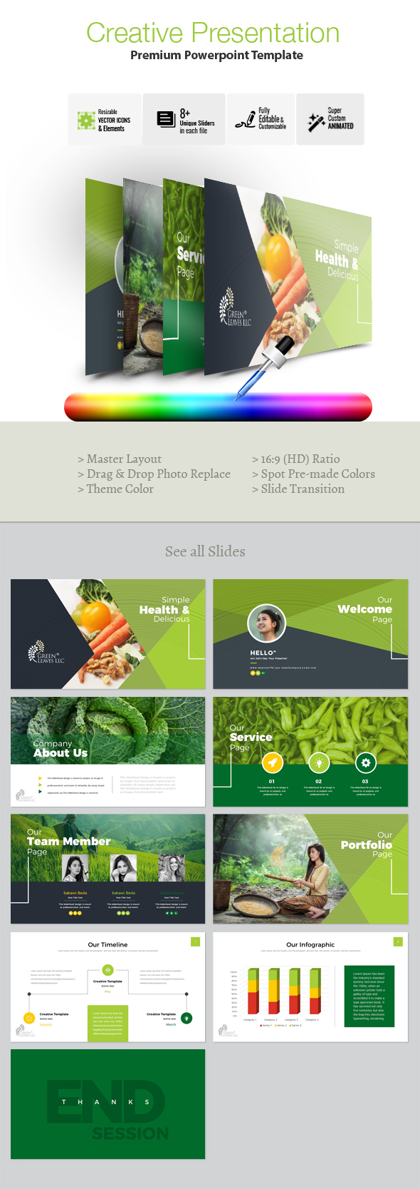 Creative Clean Powerpoint Template - Creative PowerPoint Templates