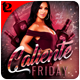 Caliente Friday Flyer Template - GraphicRiver Item for Sale