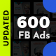 Facebook Ad Banners - 600 Files - UPDATED! - GraphicRiver Item for Sale