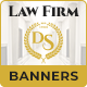 Law Firm | Attorney at Law HTML5 Banner Ad Templates (GWD)