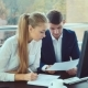 Young Professionals Work Together. Two Young Men Working in the Office - VideoHive Item for Sale
