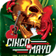 Cinco De Mayo 2018 Flyer Template - GraphicRiver Item for Sale