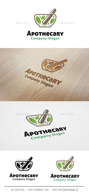 Apothecary Logo - Nature Logo Templates