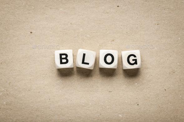 Blog - Stock Photo - Images