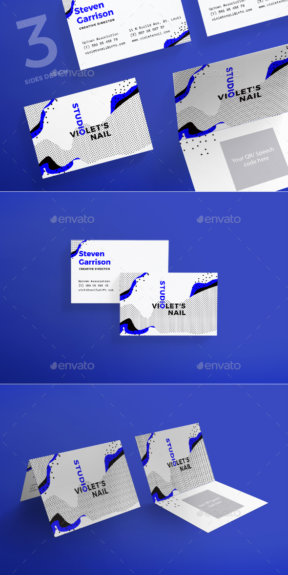 Nail Studio Business Card - Corporate Business Cards