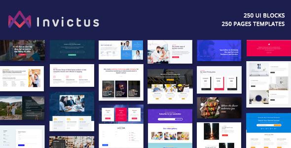 Image of Invictus - Creative MultiPurpose WordPress Theme