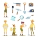 Archaeologists Characters and Various Historical