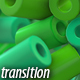Green Cylinders Transitions - VideoHive Item for Sale