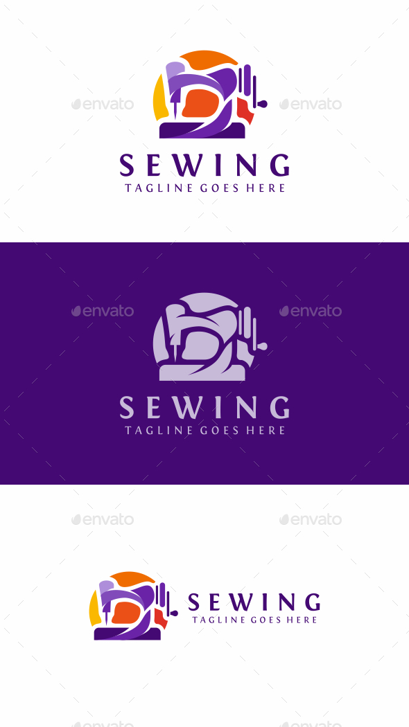 Sewing - Objects Logo Templates