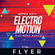 Electro Motion - Flyer Template - GraphicRiver Item for Sale