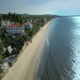 Inns near Peaceful Ocean with Sunshine Reflection - VideoHive Item for Sale