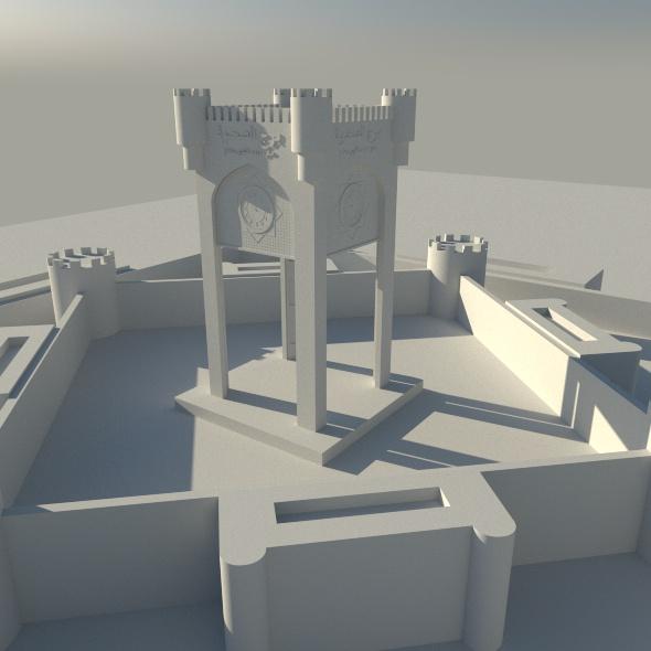 Sahwa Tower - 3DOcean Item for Sale