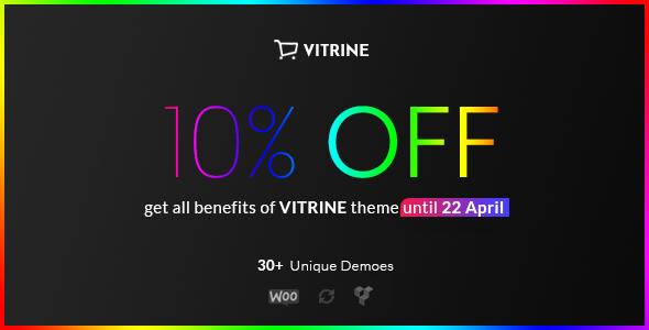 Vitrine - WooCommerce WordPress Theme