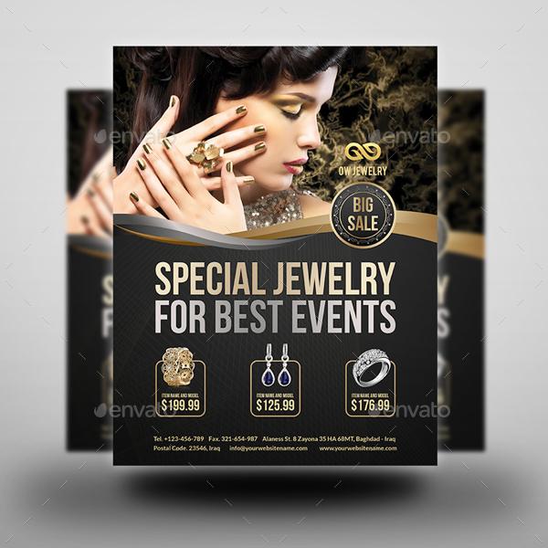 Jewelry Flyer Templates Vol.2