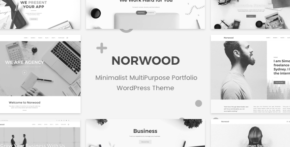 Image of Norwood - Minimalist MultiPurpose Portfolio WordPress Theme