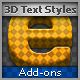 3D Text Style - GraphicRiver Item for Sale