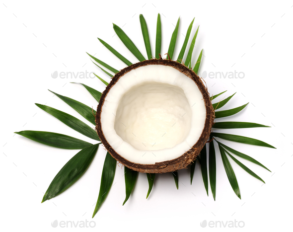 coconut close up - Stock Photo - Images