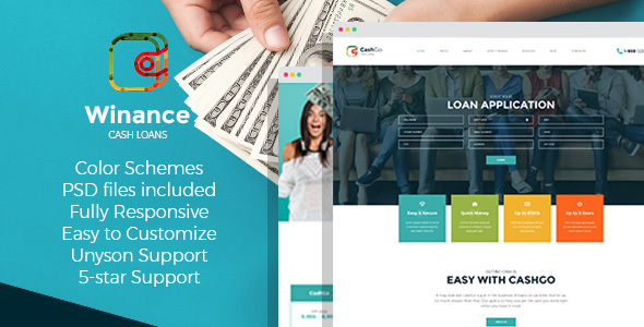 Winance – Financial Company WordPress Theme - Business Corporate